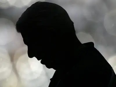 Silhouette of Daniel Brown