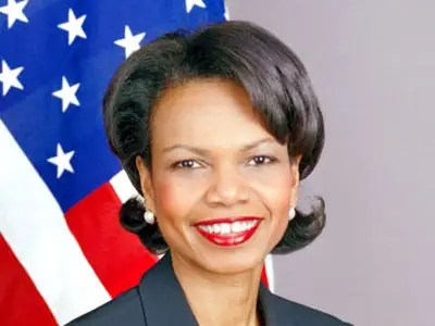 Condoleeza Rice, former Secretary of State (1.1 percent)