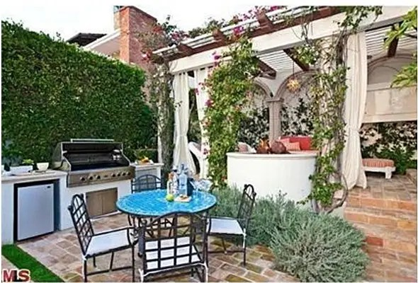 Great space for barbecues