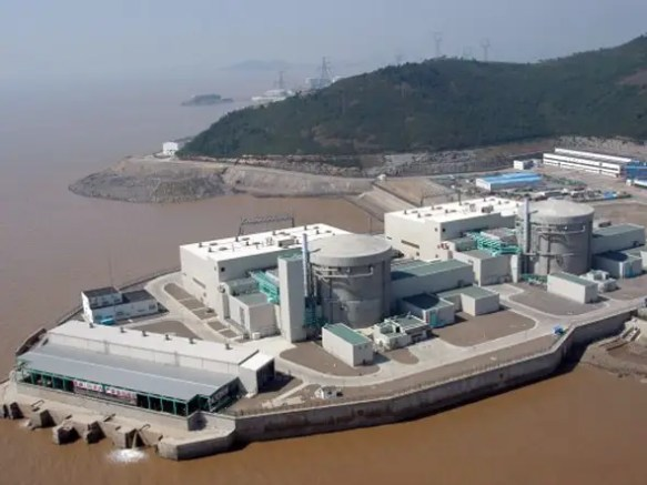 $2.2 BILLION: The Qinshan Nuclear Power Phase II will add to the Qinshan plant and have the most nuclear reactors of any site in the world