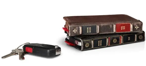 Disguise your phone as something else. Cases like the BookBook by TwelveSouth make your phone look like a book.