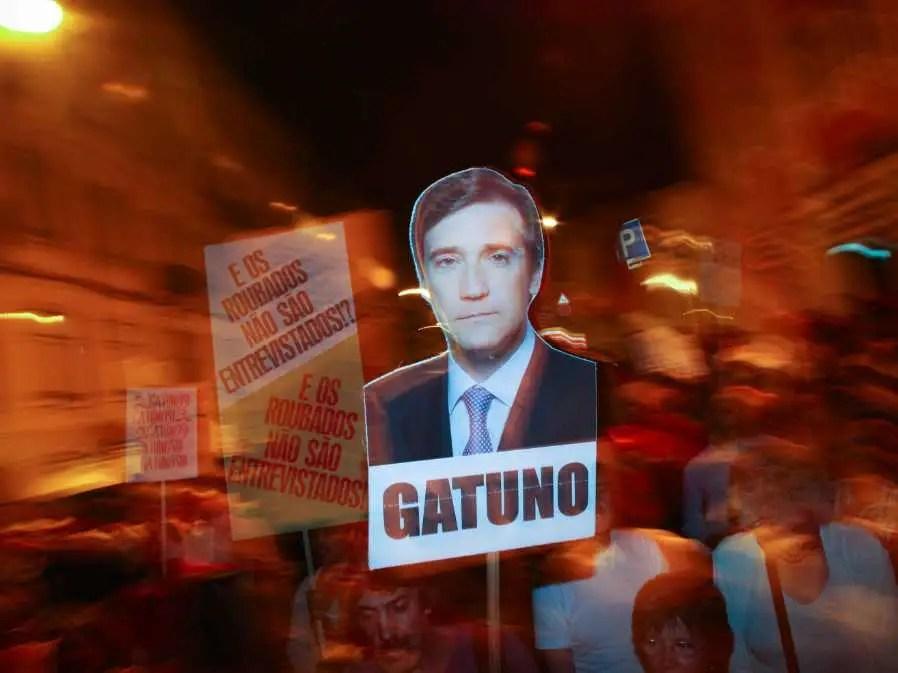portugal protest coelho