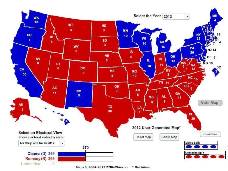 electoral tie
