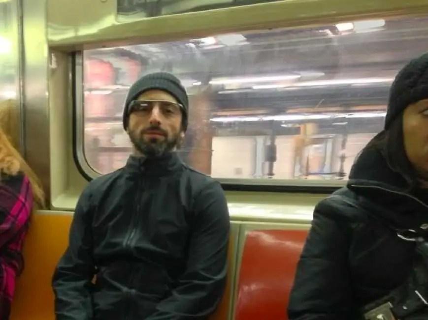 Photo Of Google Founder Sergey Brin New York Subway
