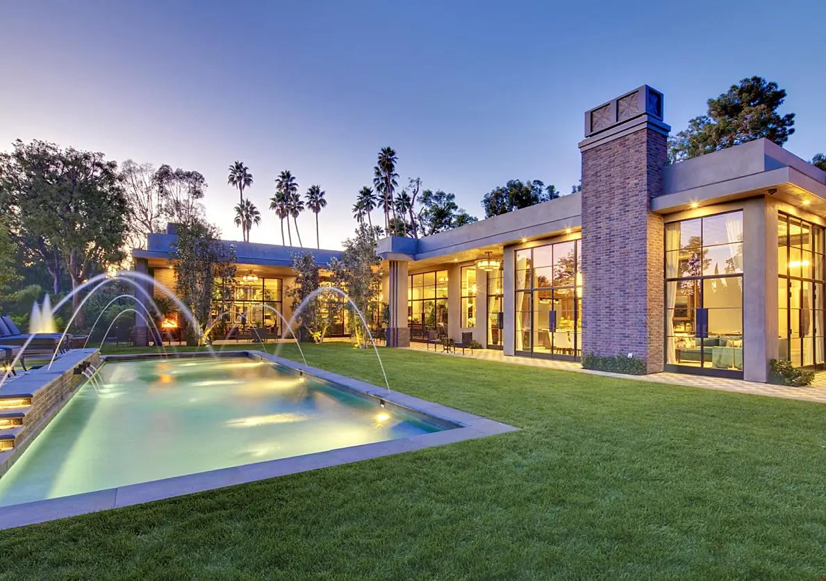 #4 Actor Jeremy Renner flipped a $25 million 10,000-square-foot Holmby Hills mansion in Los Angeles. He put the home on the market in January, and it had easily sold by July with its five fireplaces, a theater, and multiple pools.