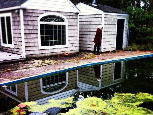 ejecución de una hipoteca estanque abandonado el hogar