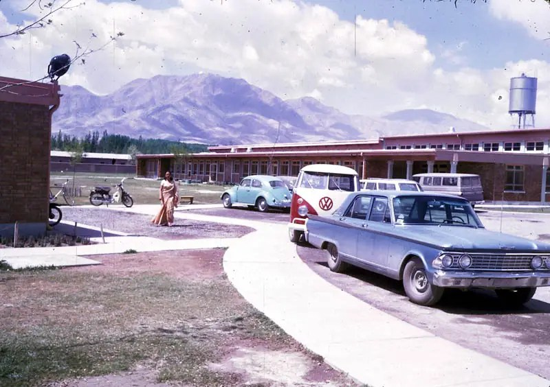 One of a few American schools in Afghanistan shows just how stable the country once was.
