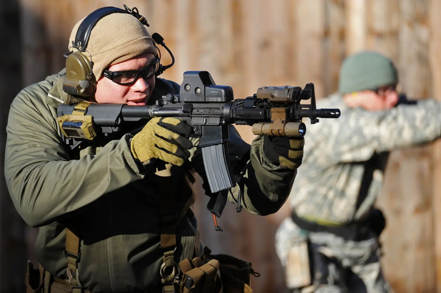 They have some of the most highly-skilled shooters in the military ...