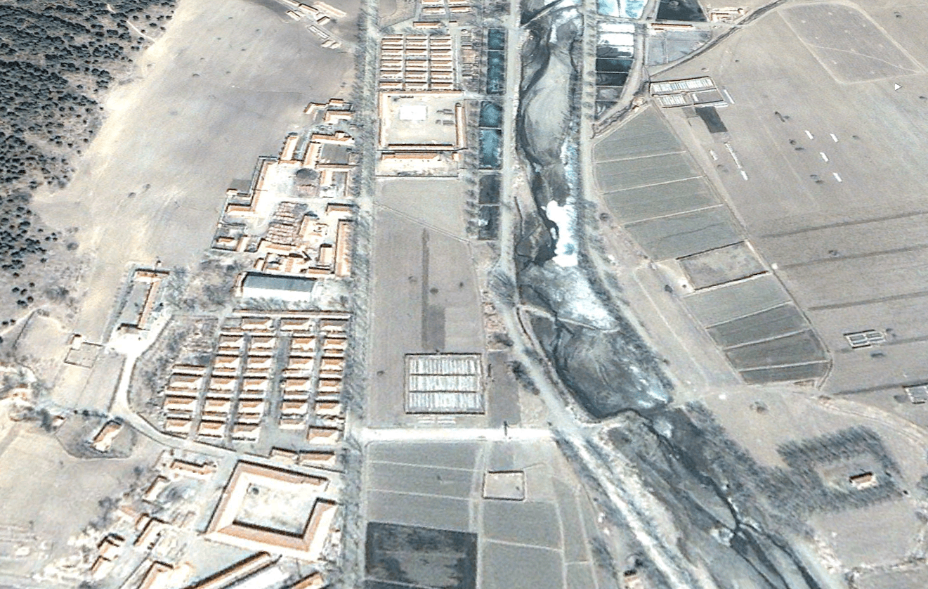 Camp 22 North Korea from Google Earth