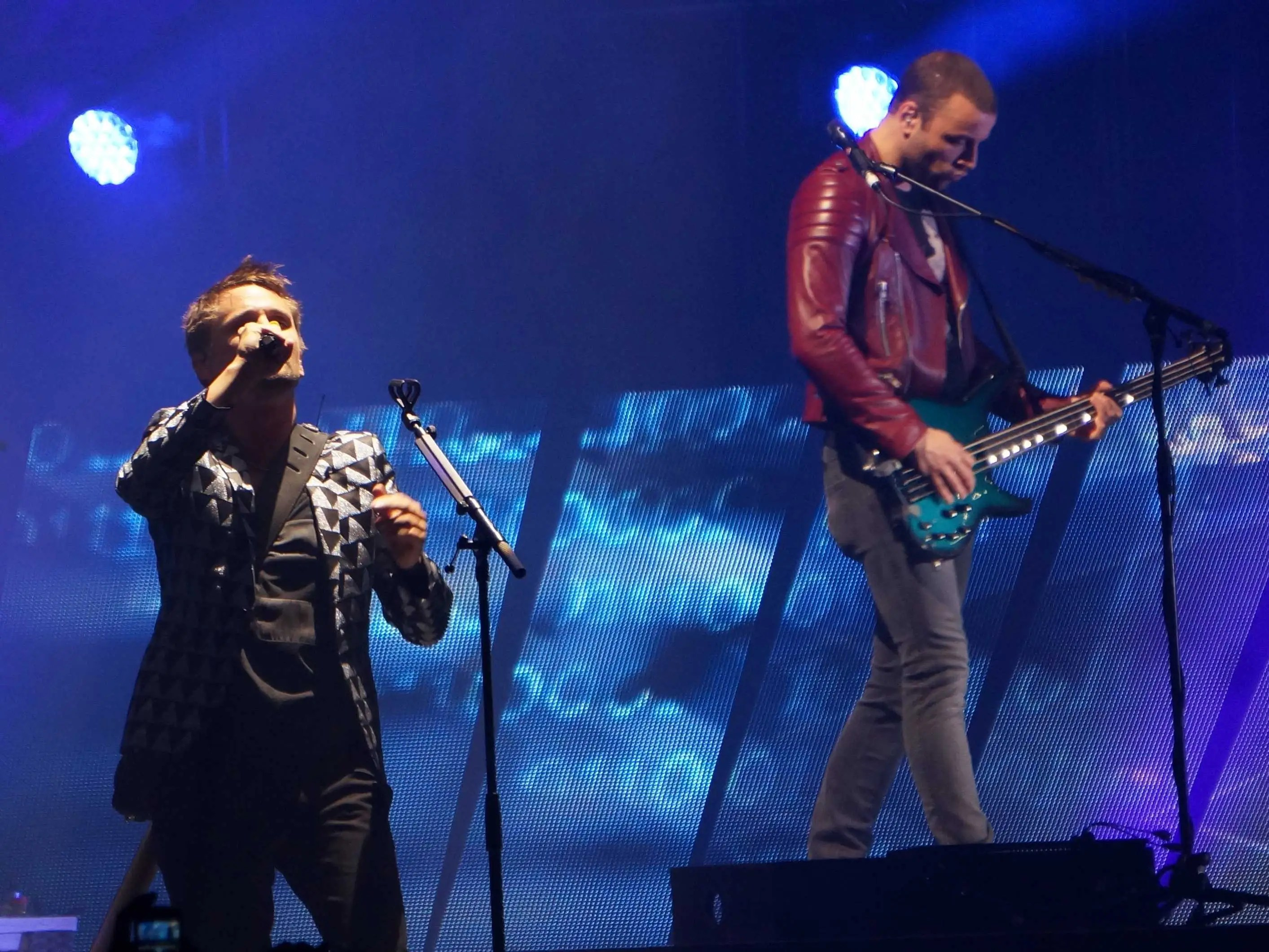 Muse Singer Plays National Anthem For Boston  Business
