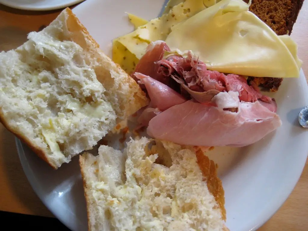 BRAZIL: Expect to find ham, cheeses, and bread, served with coffee and milk.