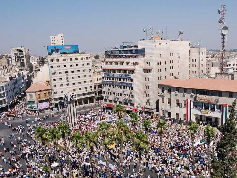 Homs Syria 2011