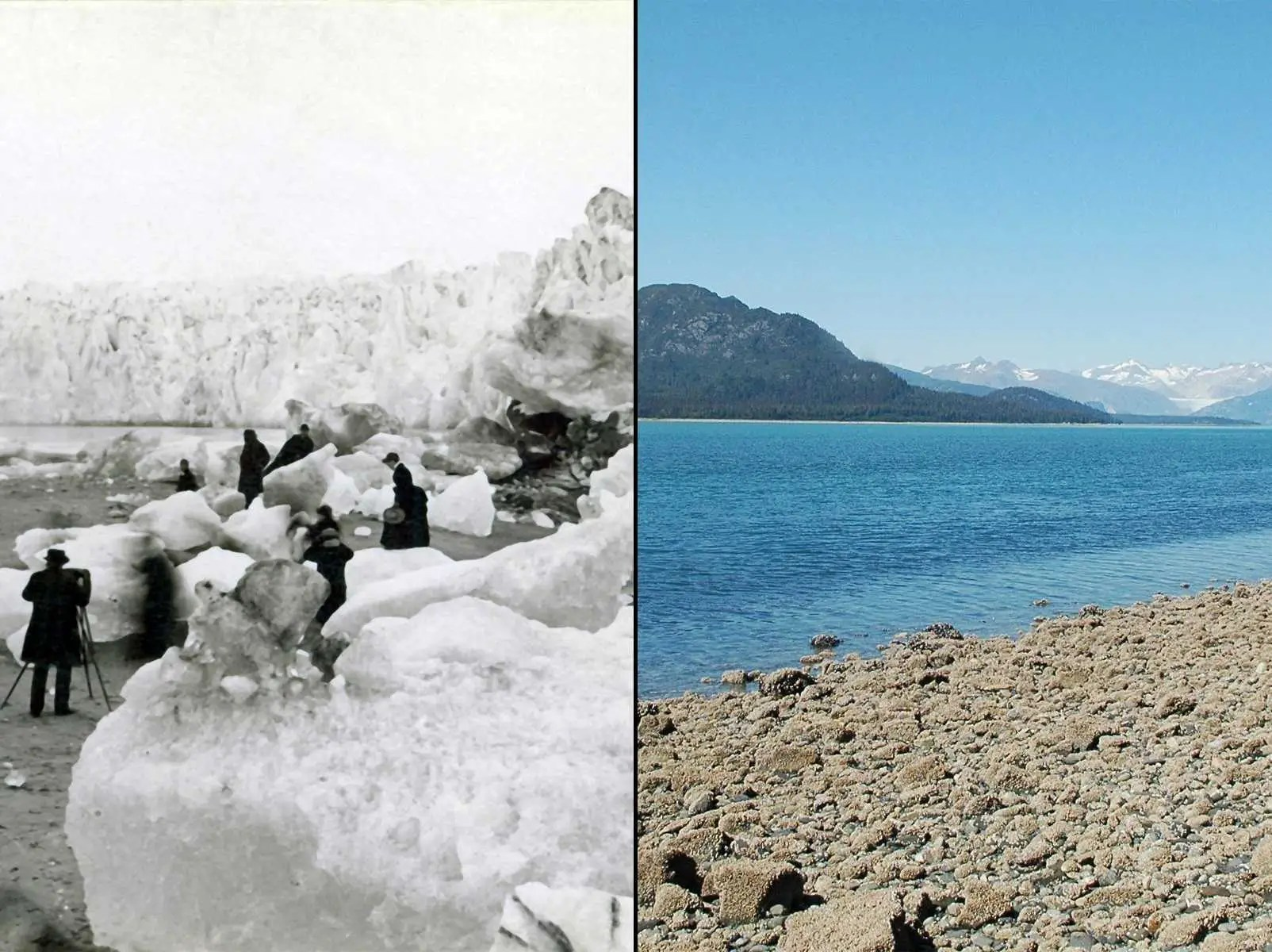 Climate Change Before And After Pictures