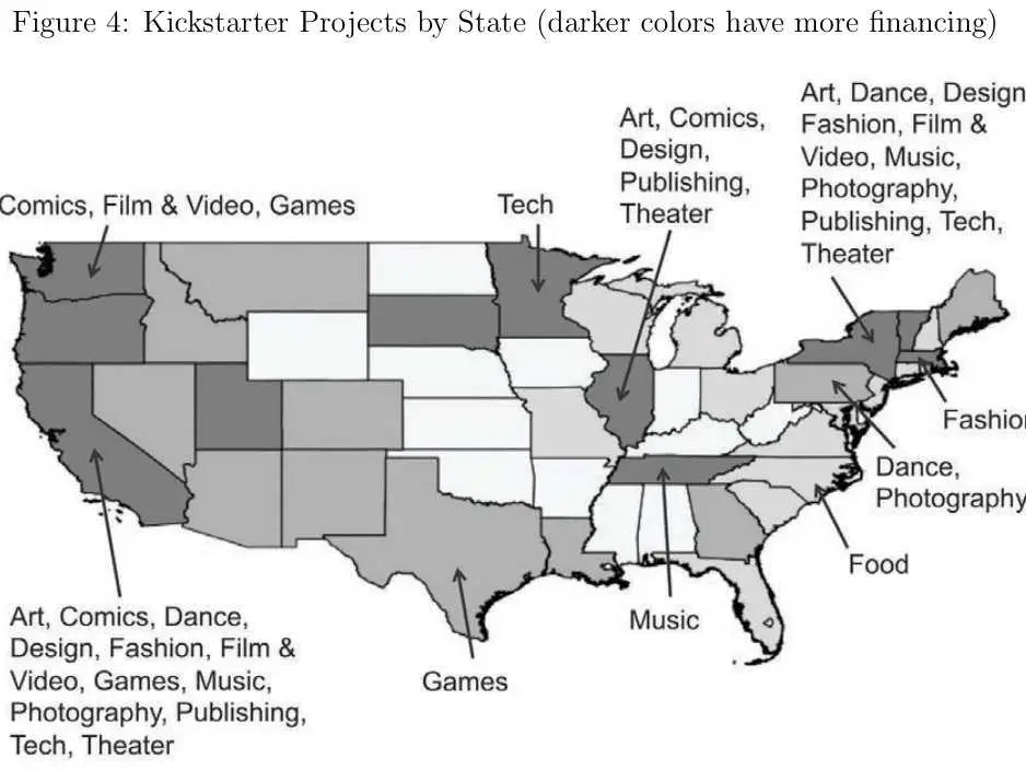MAP OF THE DAY: What Kickstarter Tells Us About Invention