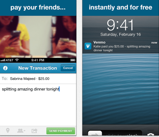 Nothing's better than enjoying a meal with a friend. Use CheckPlease and Venmo to keep splitting the check simple.