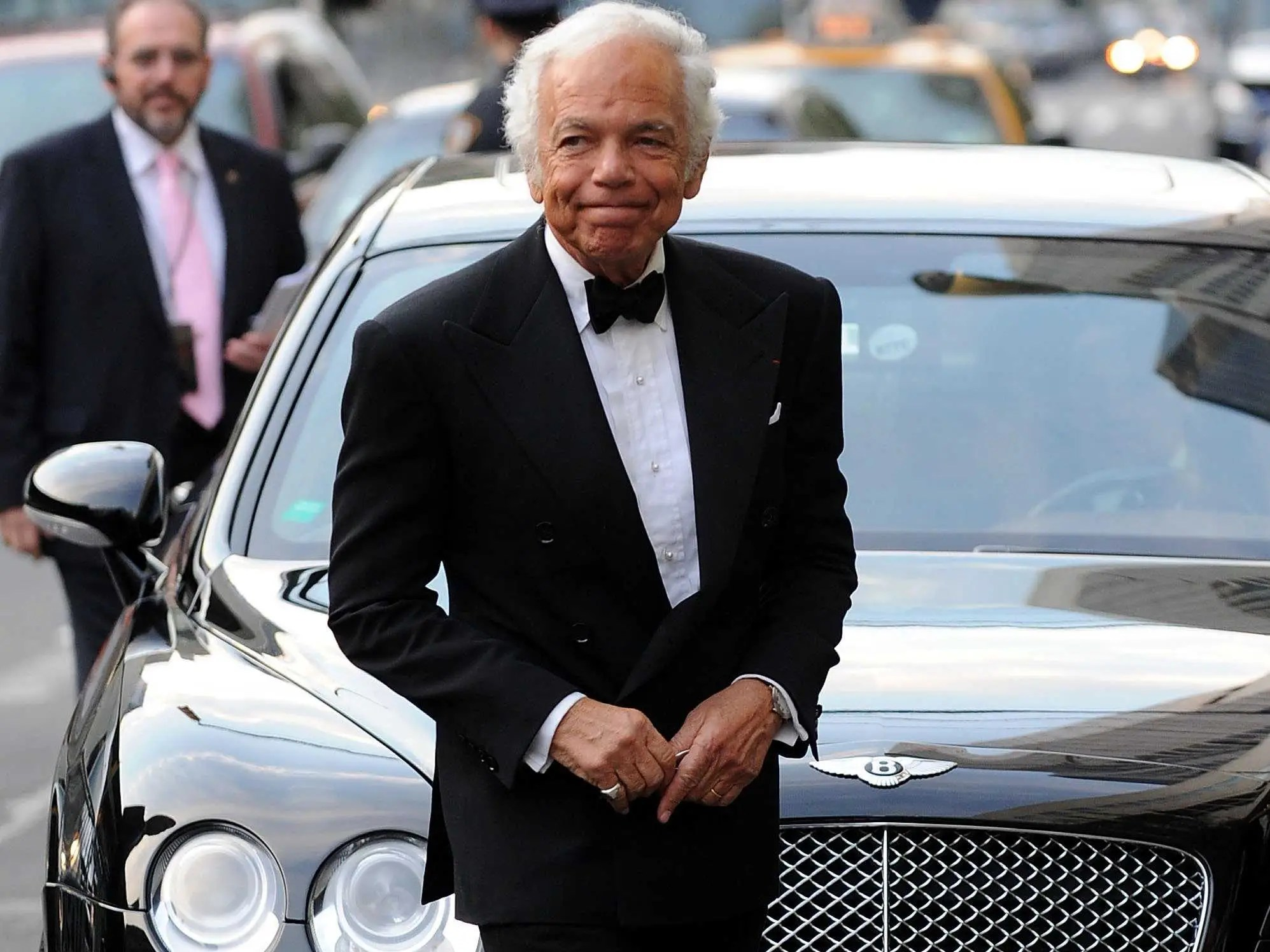 Ralph Lauren was once a clerk at Brooks Brothers dreaming of men's ties.