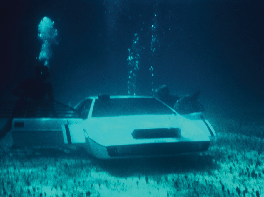 "Though he did recently spend $1 million on the Lotus Esprit from ""The Spy Who Loved Me,"" which he plans to convert into a functioning submersible vehicle."
