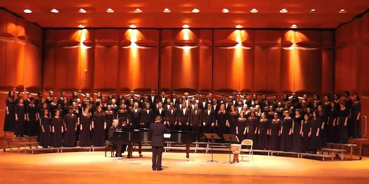 LaGuardia High School Students Choir Singing
