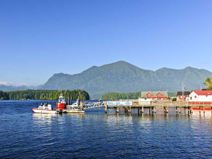 Tofino, Canada draws serious skiers and oenophiles, and surfers, too, have come to adore B.C.—especially Tofino, on the west coast of Vancouver Island.