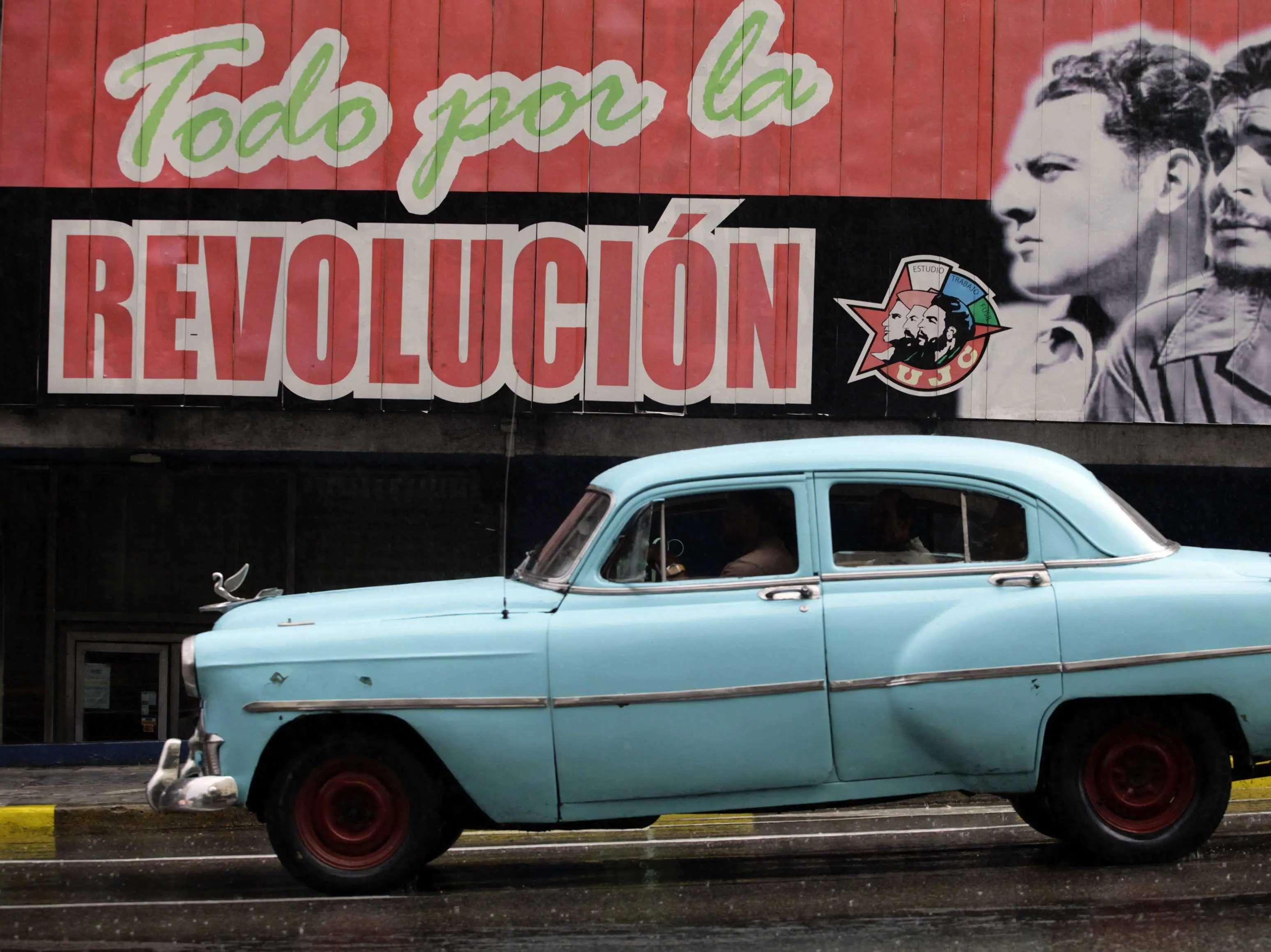 Drive a classic car around Havana, Cuba.