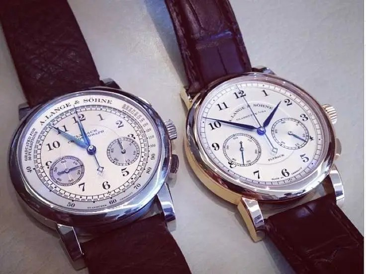a langue and sohne chronograph men's watches