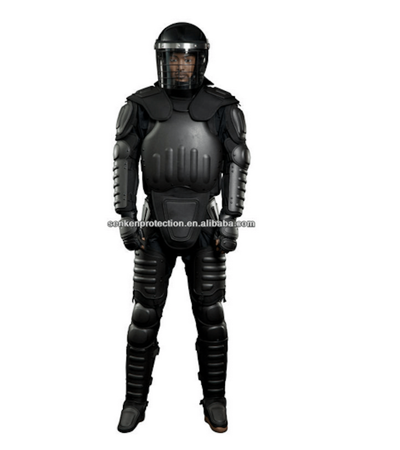 The anti-flame armored suit only costs only $200.