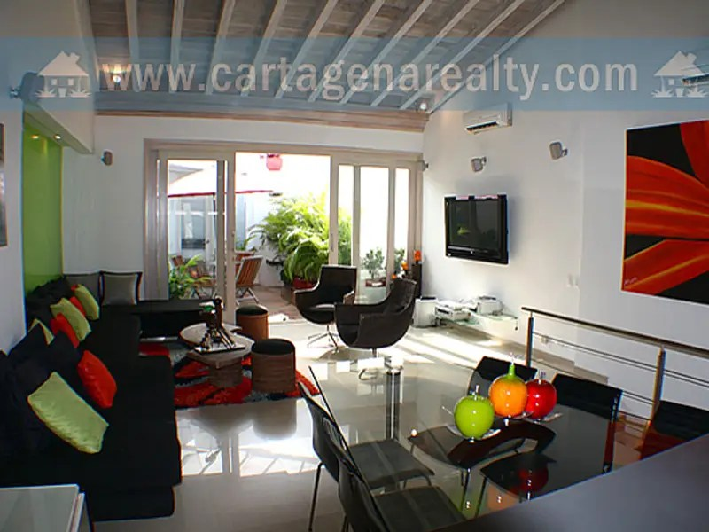 In Cartagena, $1 million gets a recently renovated three-bedroom, four-bathroom apartment with a terrace and jacuzzi.