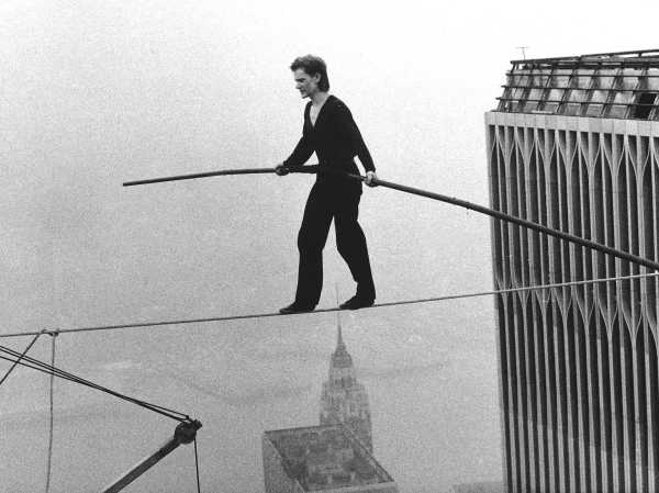 Philippe Petit Twin Towers