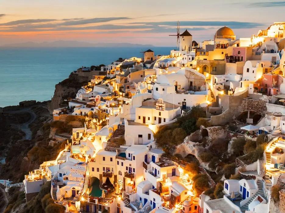 7. Santorini & Cyclades, Greece