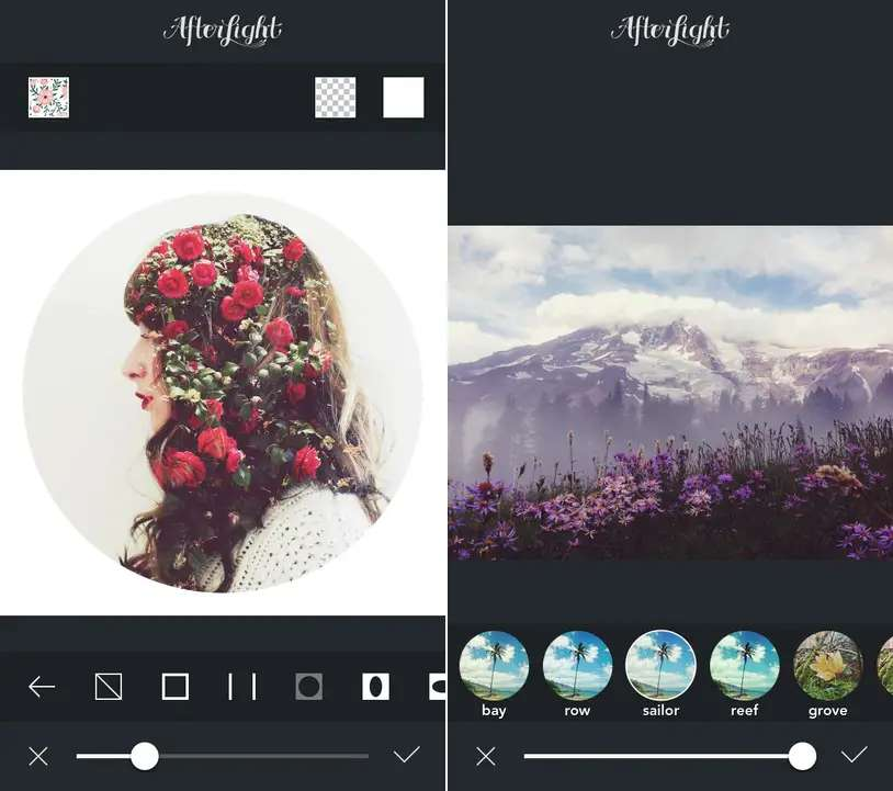 If you like photo filters, you'll love Afterlight.