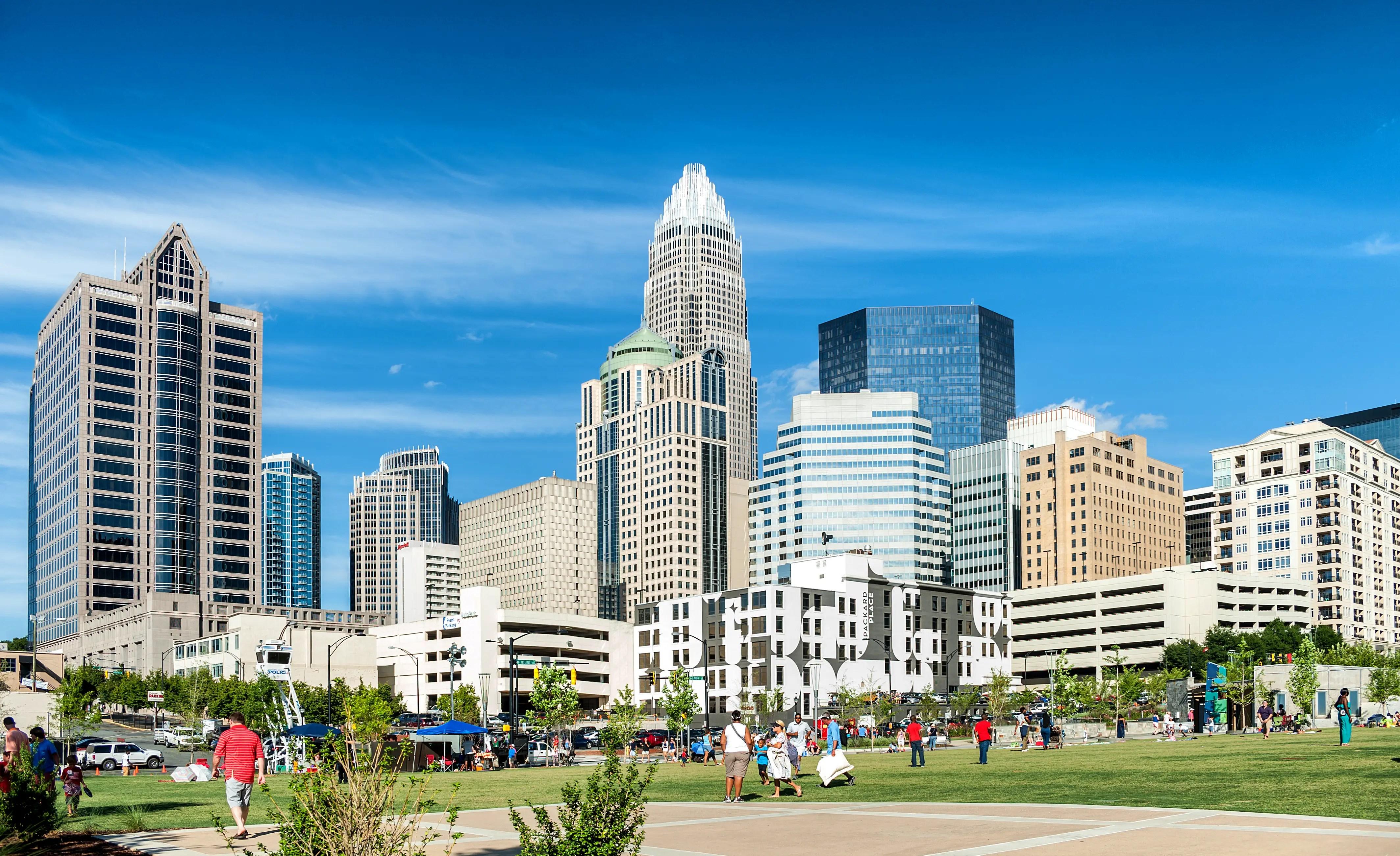 8. Charlotte, North Carolina: 47.35 hours