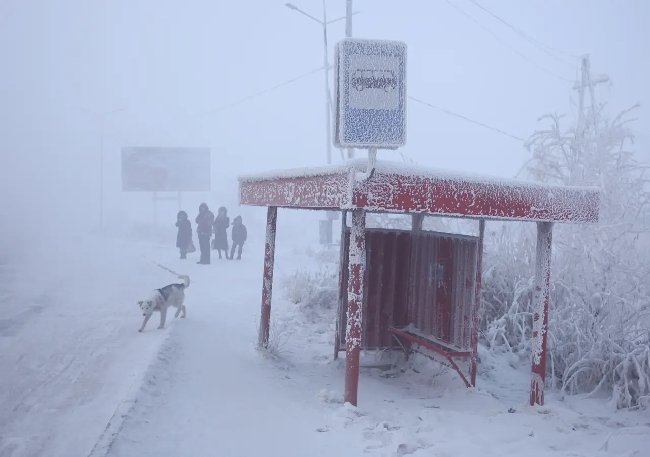 """How do locals deal with the extreme cold? """"Russki chai, literally Russian tea, which is their word for vodka,"""" Chapple tells weather.com"""