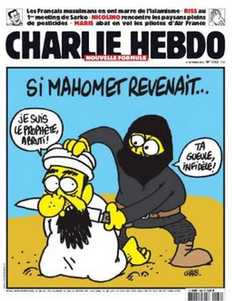 On Oct. 1, 2014, the magazine featured Muhammed again.