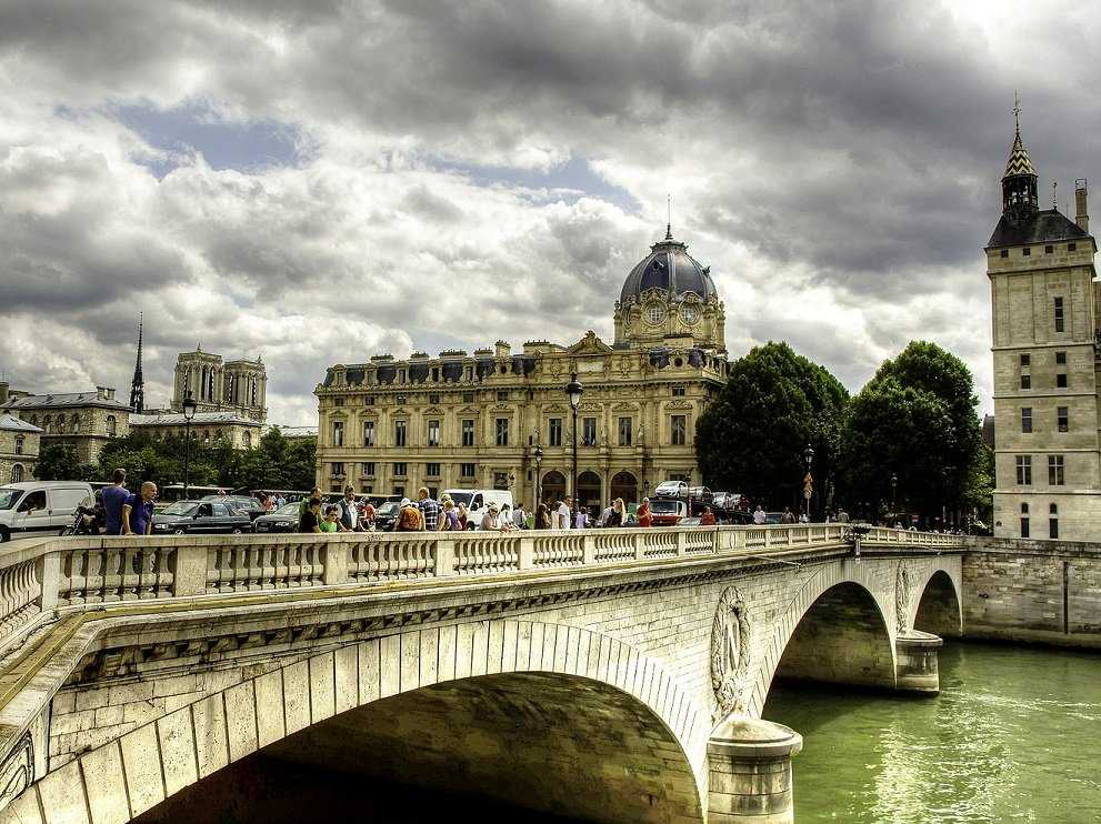 No. 5 Paris: 15.2 million visitors