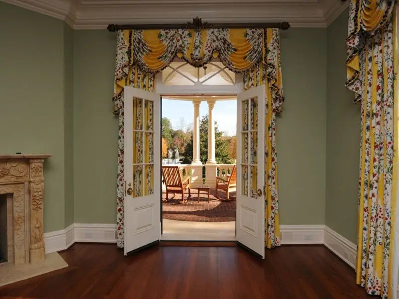 There's a lot of grandiose Southern charm in the home, especially for one if its size.