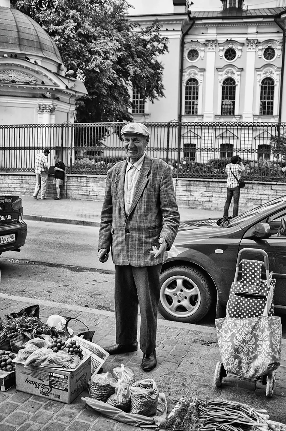 """Victor, age 72. Profession: Driver. Passion or Dream: """"I would like to have an interesting life, more money, and to go to the Black Sea. I would also like to have a place form where I can trade."""""""