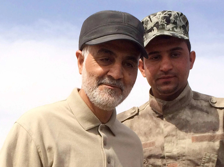 Iranian Revolutionary Guard Commander Qassem Soleimani