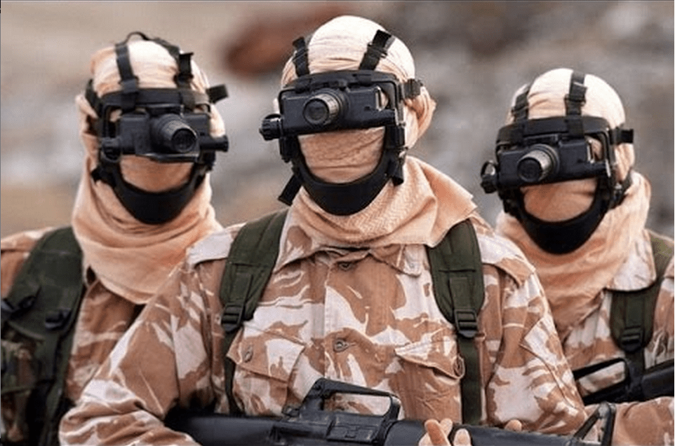 """3. The British Special Air Service, known as the SAS, is the infantry counterpart to the Special Boat Service. Their insignia bears the phrase """"Who dares wins."""" Asked about the importance of the SAS's role in the fighting that followed the Iraq War, US Gen. Stanley McChrystal said: """"Essential. Could not have done it without them."""""""