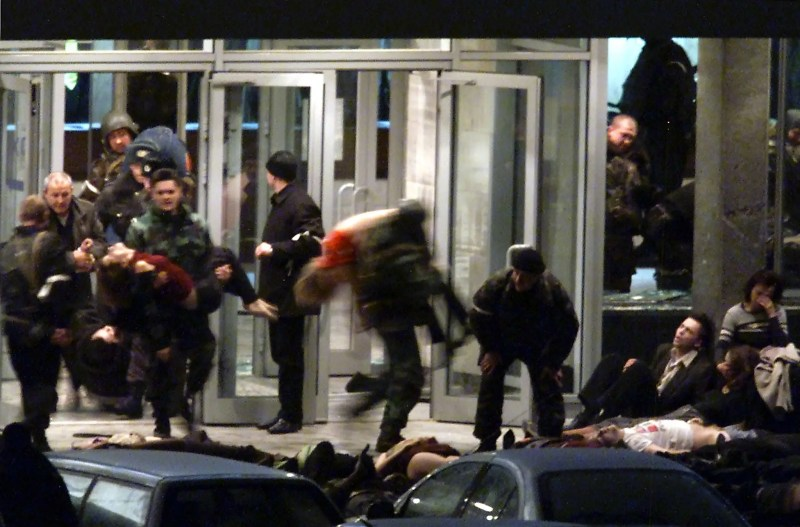 Russian special forces — the Alpha Group, in particular — was criticized during the 2002 Moscow hostage crisis, in which at least 120 hostages died from the effects of a gas used to knock out militants who had seized a theater.