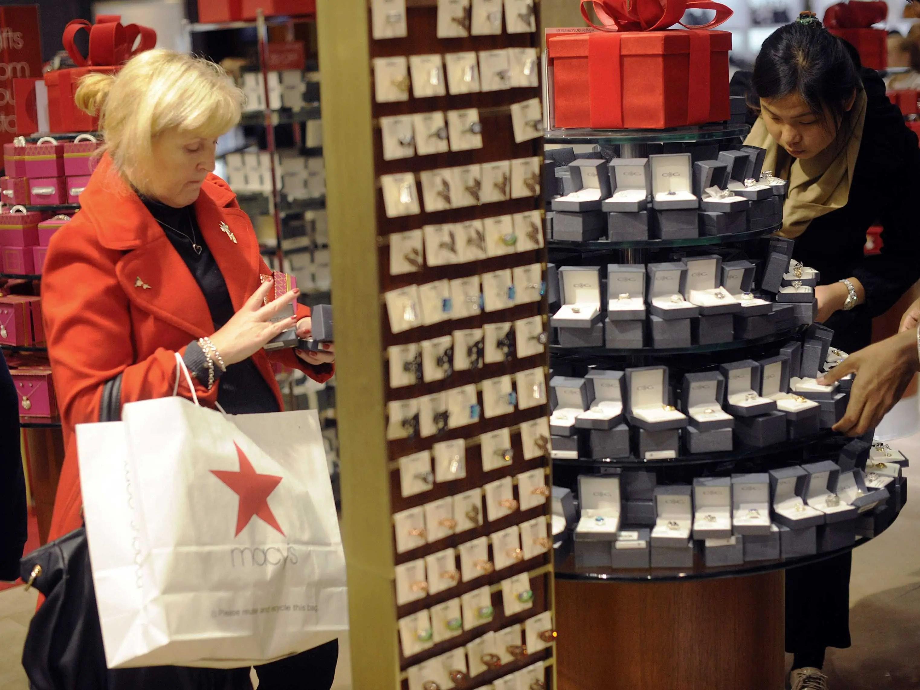 baby boomer shopping macy's
