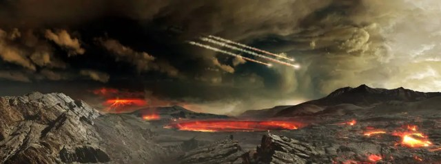 early earth asteroids