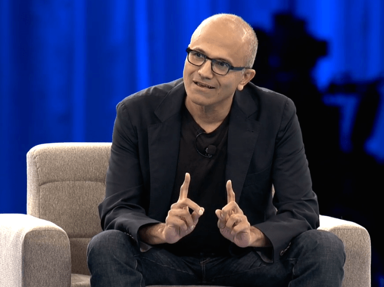 Microsoft CEO Satya Nadella: The 'agent' is the new app ...
