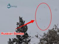 Intense video shows Russian warplanes carpet bombing in ...
