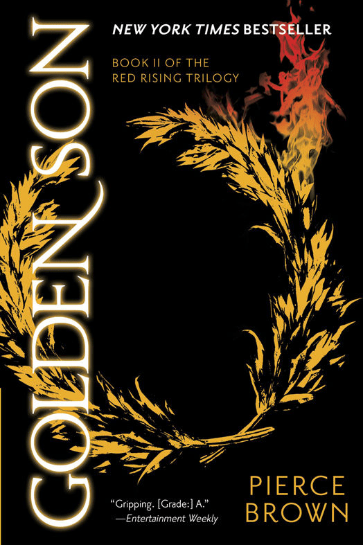 """SCIENCE FICTION: """"Golden Son (Red Rising Trilogy #2)"""" by Pierce Brown"""