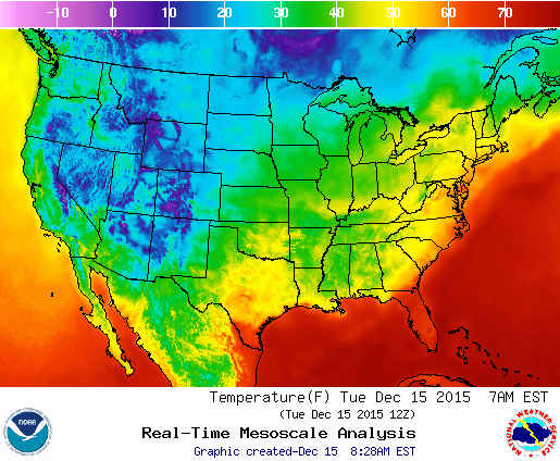 Dec 15 temperature map