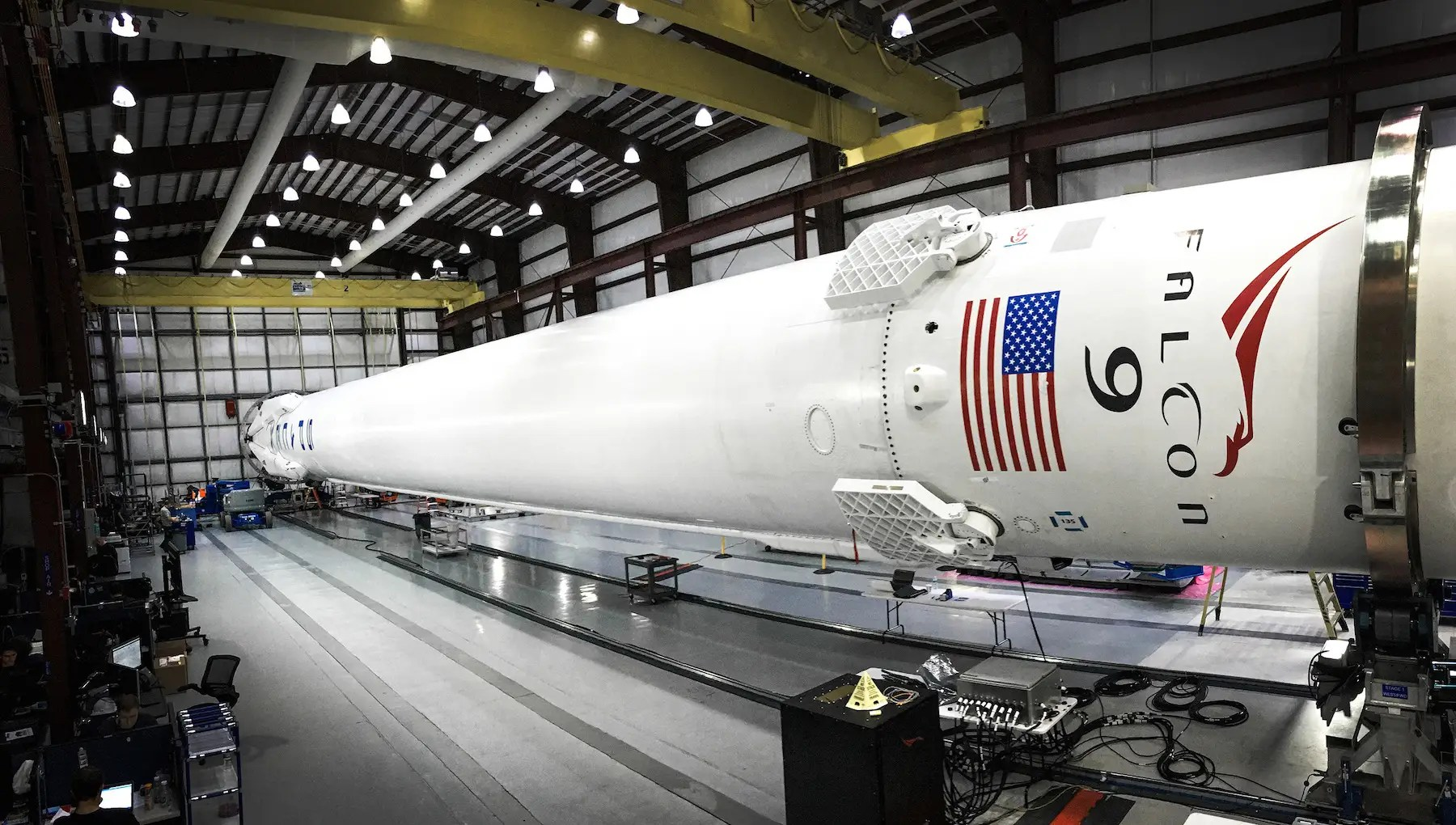 SpaceX's first vehicles were the Falcon 1 and 9 rockets, named after the Millennium Falcon of Star Wars fame...