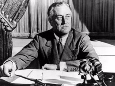 4. Franklin D. Roosevelt.