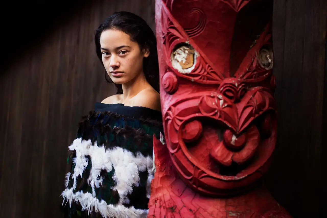 """In some countries I approach 10 women and maybe only one accepts,"" she says. ""In other places, everybody accepts."" This was in Maori, New Zealand."