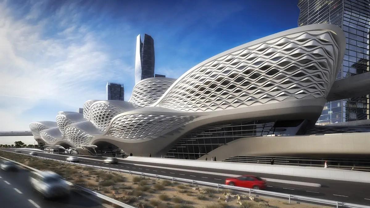 Riyadh Metro Zaha Hadid