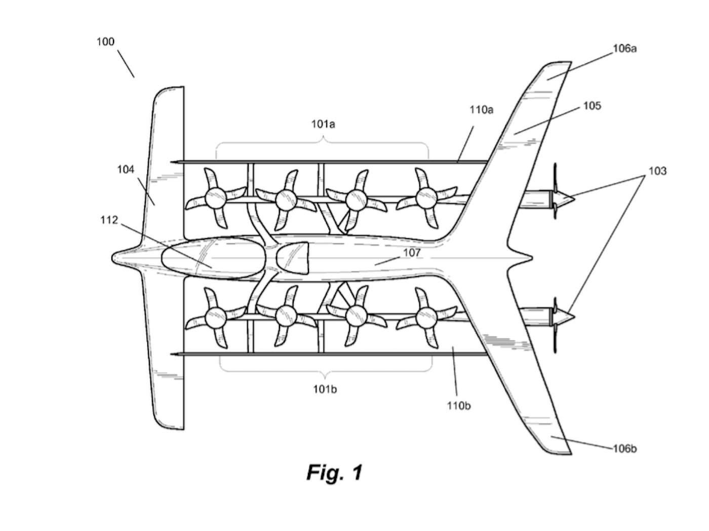 Patent Diagrams Of Flying Cars Built By Zeero Company